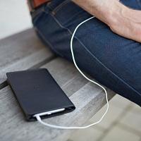 Černá peněženka s pouzdrem na iPhone 6 Plus/6S Plus | Peněženka s pouzdrem na iPhone 6+/6S+
