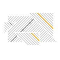 Designove samolepky na zed prouzky 072 074 020 detail | Lineatus (w248)