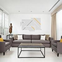 Designové samolepky na zeď proužky 072 074 020 | Lineatus (w248)