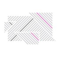 Designové samolepky na zeď proužky 072 074 045 detail | Lineatus (w248)