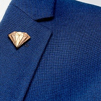 Ozdoba do klopy Diamond Lapel