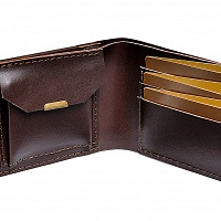 Dřevěná peněženka Brunn Virilia
