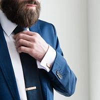 Dřevěná spona na kravatu Lini Clip
