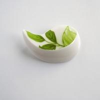 Leaves (porcelánová brož)