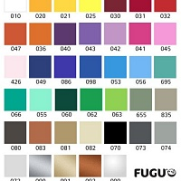 Vzorník barev | Tabulový kalendář (t02)