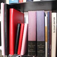 Zápisníky, diář 2018 a diáře kapesní | Zápisník Black Brick tečkovaný červený