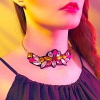 """Choker"" náhrdelník - Divoká romantika | Náhrdelník - Divoká romantika"