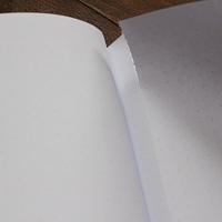 Tečkový list s jemnou perforací | Zápisník Black Brick tečkovaný červený