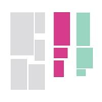 Rectangulum rozložení motivu na archu | Rectangulum (w257)