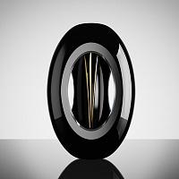 Renton černý | Váza Renton