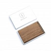 Dřevěný vizitkovník Nox Note