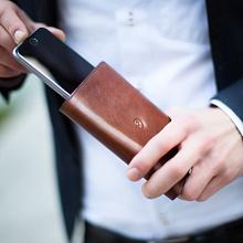 Kožená peněženka s pouzdrem na iPhone 6