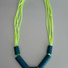 Gumičkový náhrdelník Amazonie