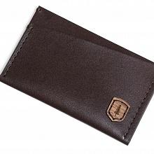 Kožený vizitkovník Brunn Card Holder