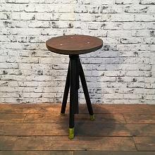 Industriální trojnožka, židlička