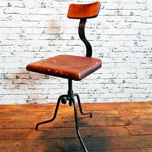 Industriální dílenská židle