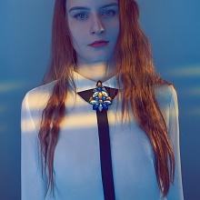 Náhrdelník - Královsky modrý