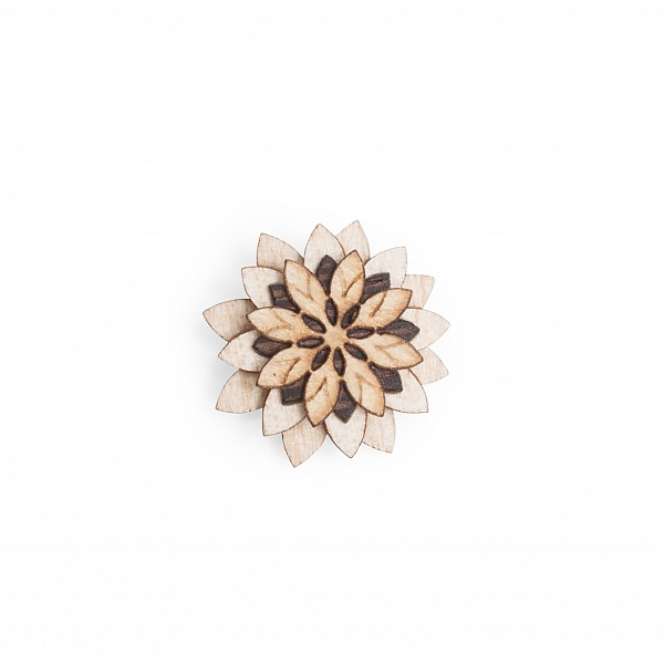 Ozdoba do klopy Bellis Flower | BeWooden