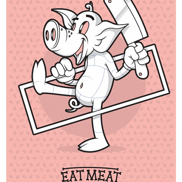 EAT MEAT | MEAT POSTERS
