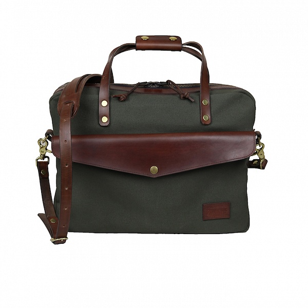 Briefcase - khaki | Promise Clothing