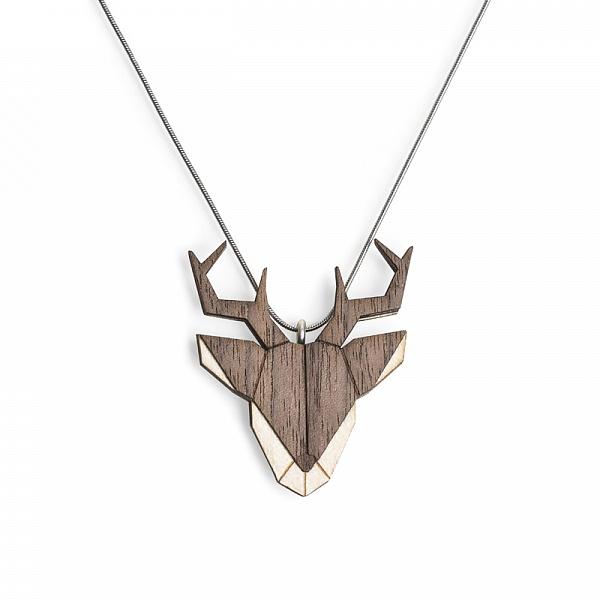 Přívěsek Deer Pendant | BeWooden
