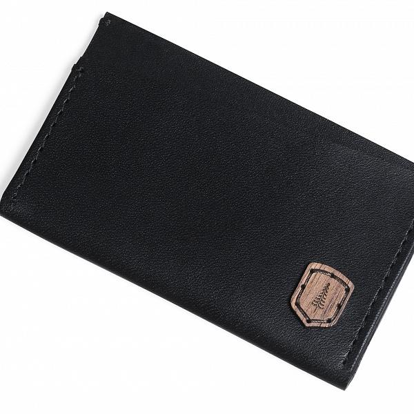Kožený vizitkovník Nox Card Holder | BeWooden