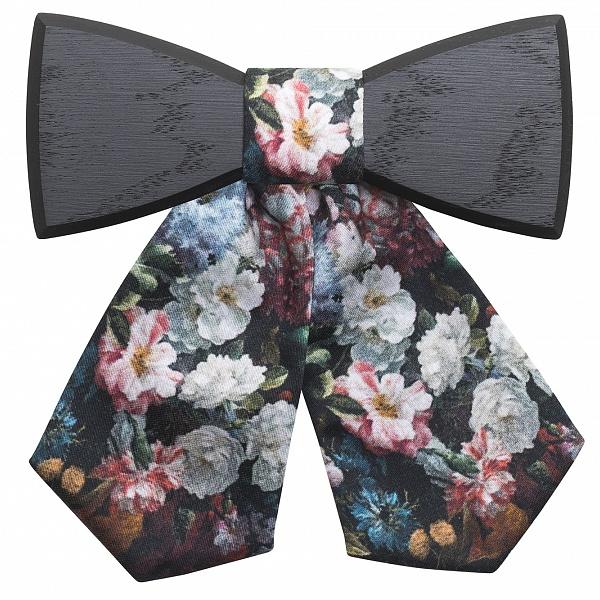 Dámský dřevěný motýlek Dark Rose | BeWooden