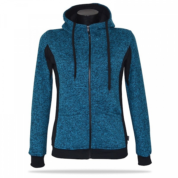 BARRSA SNOW SPORTY BLUE MELANGE/BLACK | Barrsa