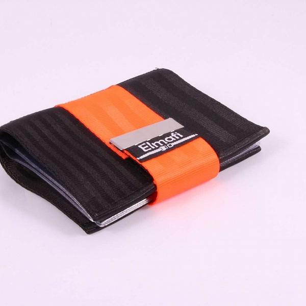 Dokladovka black and orange z bezpečnost
