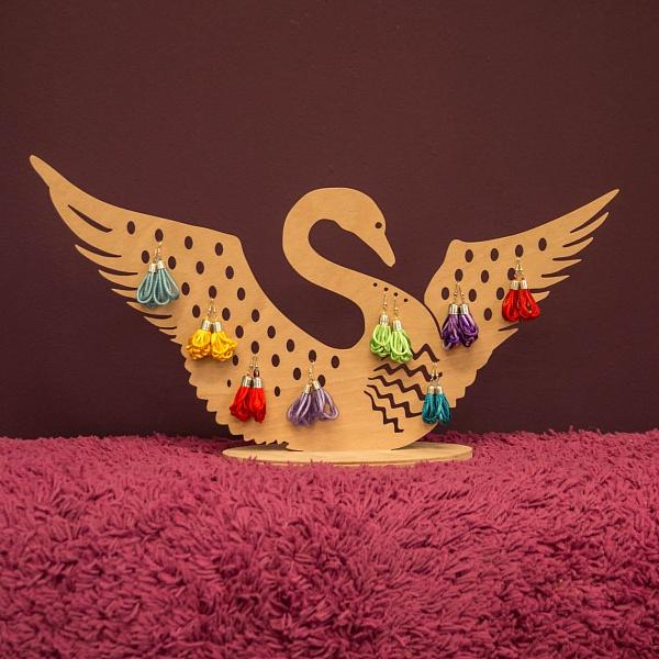 Stojánek na šperky Labuť | Babooshop