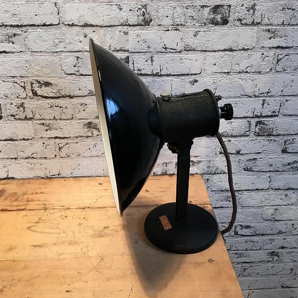 Industriální stolní lampička | Industrial Antik