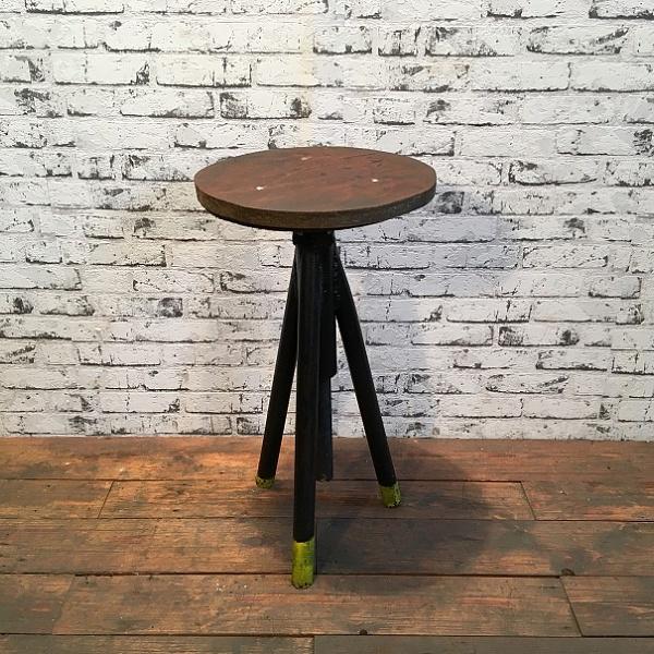 Industriální trojnožka, židlička | Industrial Antik