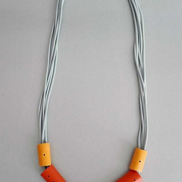 Gumičkový náhrdelník pozdrav slunci | Agapornis Luis