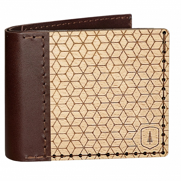 Dřevěná peněženka Virie Virilia | BeWooden
