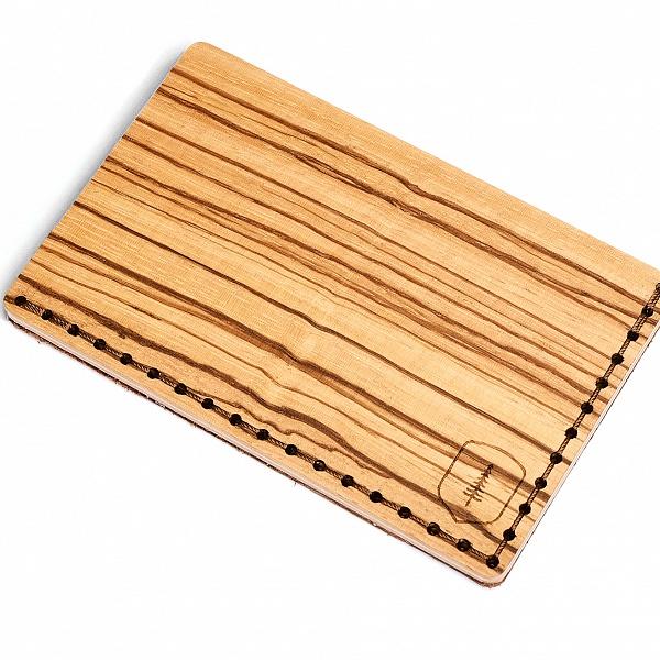 Dřevěný vizitkovník Linea Note | BeWooden