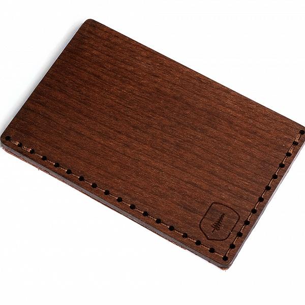 Dřevěný vizitkovník Brunn Note | BeWooden