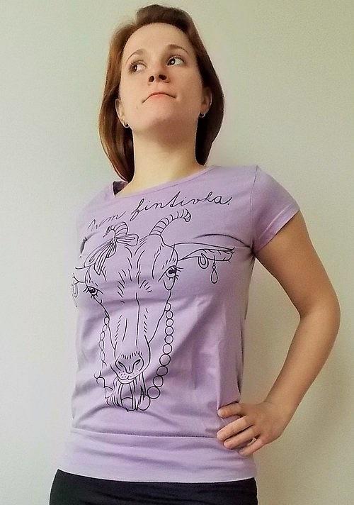 Dámské tričko - Jsem fintivka