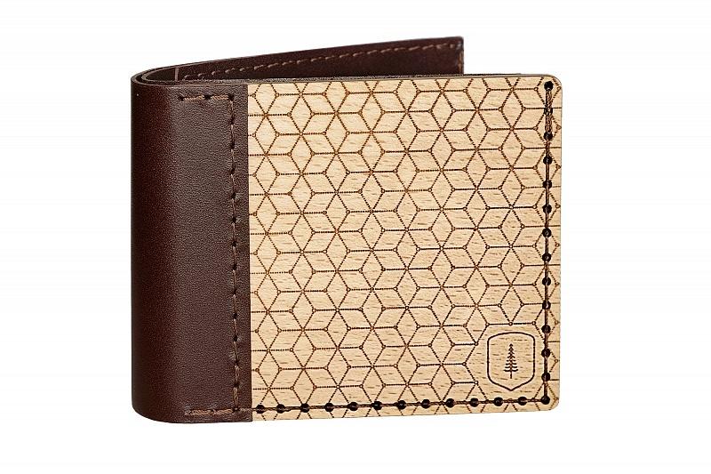 Dřevěná peněženka Virie Virilia