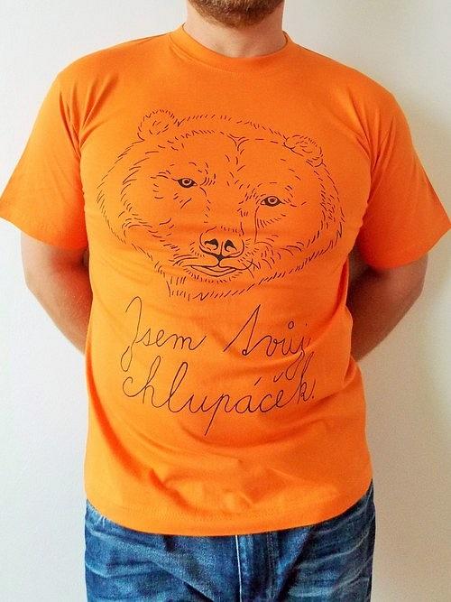 Pánské tričko - Jsem tvůj chlupáček