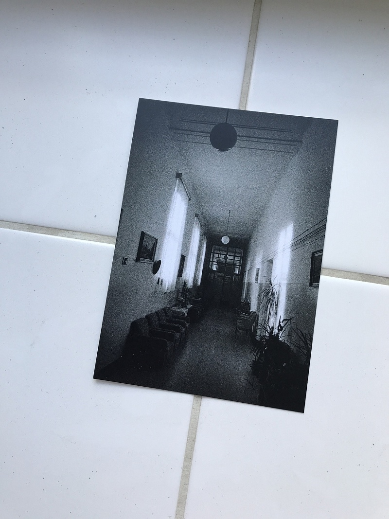 Tajemná chodba - pohlednice