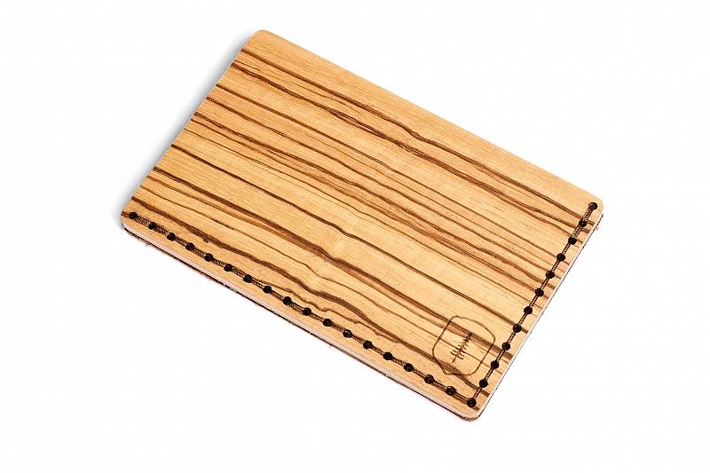 Dřevěný vizitkovník Linea Note